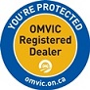 You are protected - OMVIC Registered Dealer
